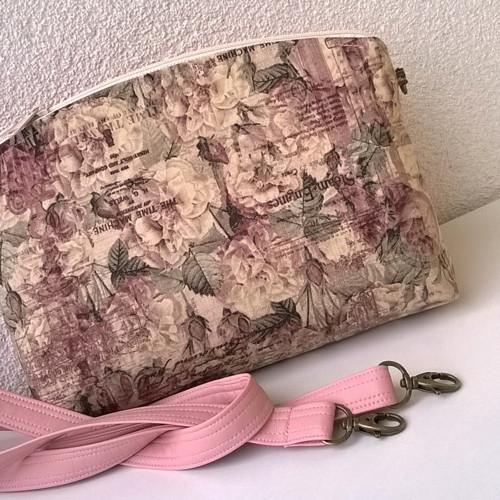 Pastelová růžová - kabelka malá (typ VI.)