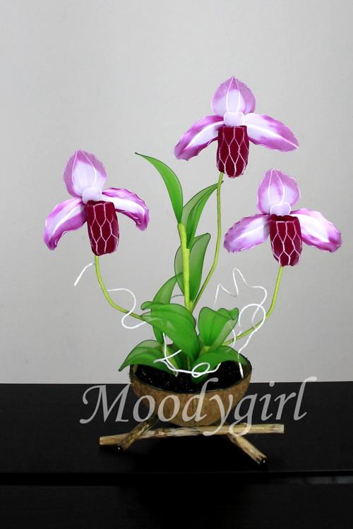 Květinová dekorace - ORCHIDEJ