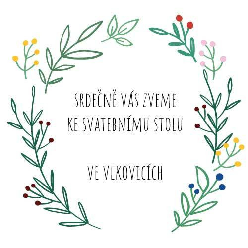 Pozvánka ke svatebnímu stolu XII. / Vlčí rodina