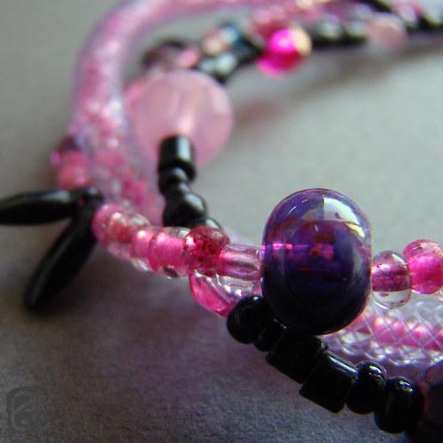Růžová hadice