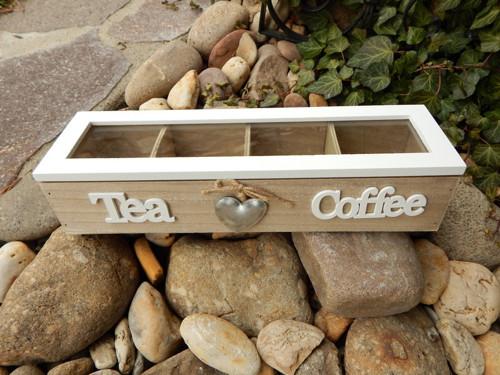 Dekorační box Tea + Cofee