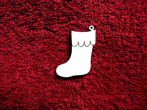 2d výřez ozdoba bota-v.4,8x3cm