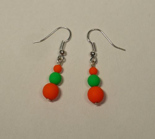 Oranžovo-zelené neonky