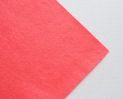 Plsť metráž tm. růžová (šířka 45 cm) (barva č.13)