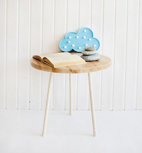 Odkládací březový stolek ♥AKCE♥