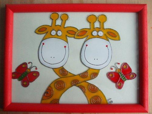 Dvě žirafky