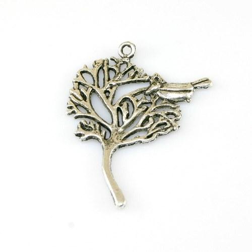 Přívěsek - strom s ptáčkem