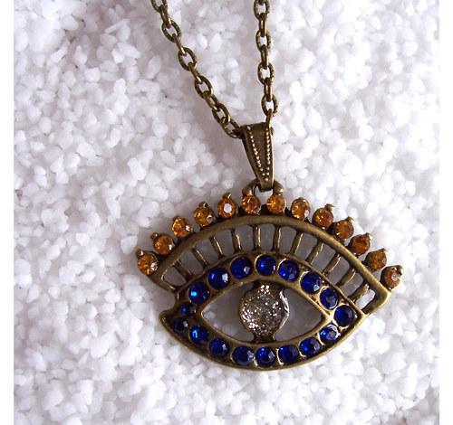 Bronzový náhrdelník