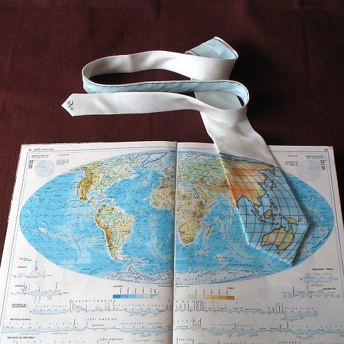 Zeměpisná kravata ASIE A AUSTRÁLIE