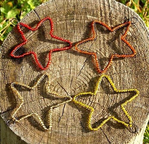 Hvězdičky ozdůbky