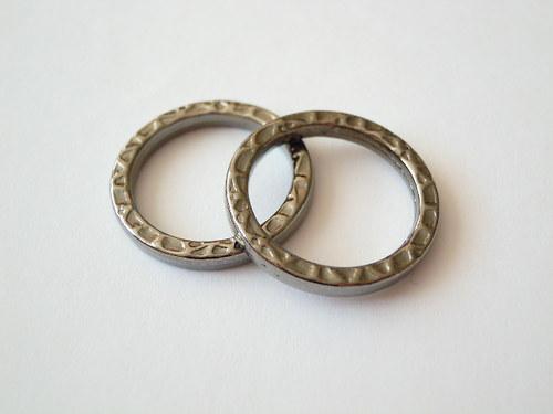 Bižuterní komponent kroužek-kolečko
