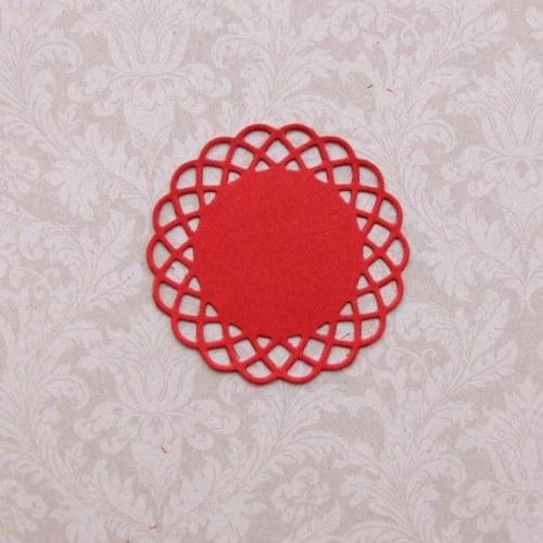 Síťková rozetka - 4,6 cm