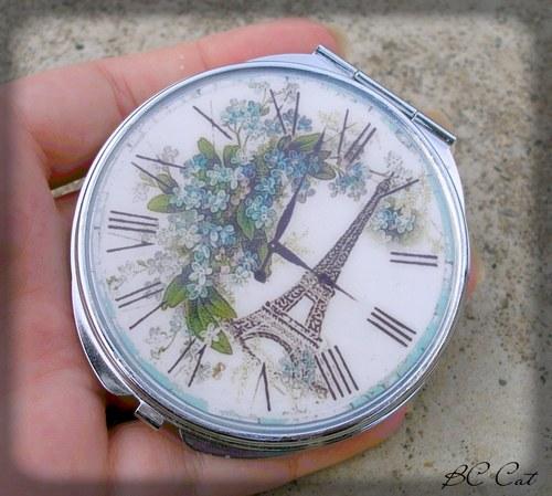 Čas v Paříži - zrcátko