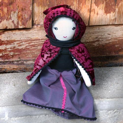 Set šatů pro princeznu..., v odstínech fialové