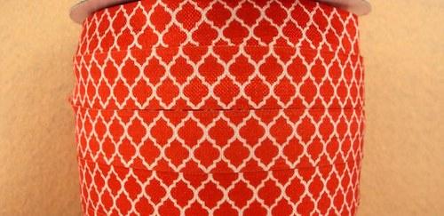 Pruženka/guma š. 16 mm: Tile červená