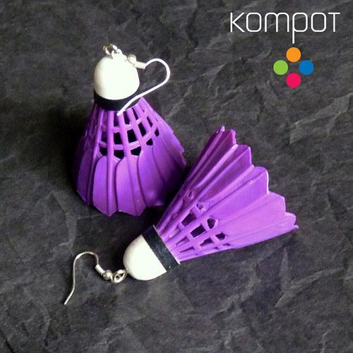 BADMINTON :: fialový (chir. ocel)