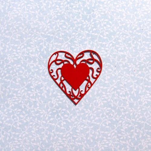 Filigránové srdce (menší)