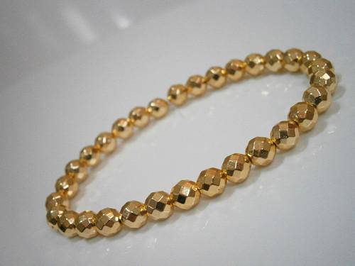 Elegantní náramek - Hematit Gold