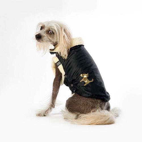 Logo Dog - nepromokavá bunda s flízovou podšívkou
