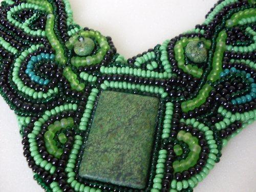 Zelený jaspis