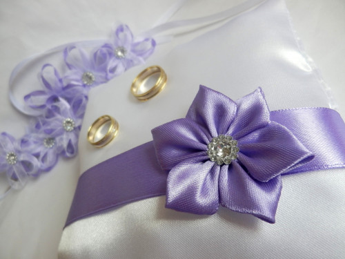 Svatební polštářek