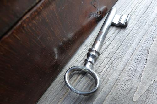 Ke starým časům...starý železný klíč 59