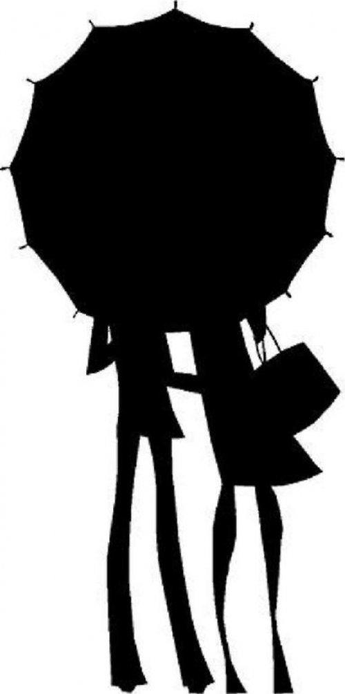 samolepka ženy 30x15cm