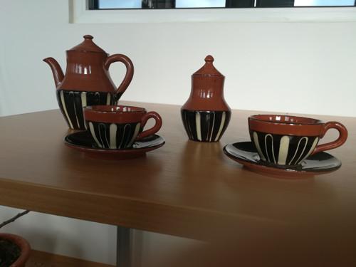 Souprava z bulharské keramiky