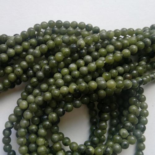 serpentin 58 korálky 0,4 cm, 10 kusů