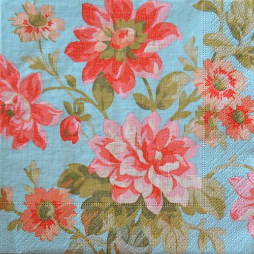 Květy  - ubrousek 33x33 cm