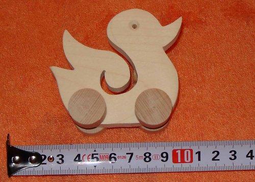 kačena - dřevěná hračka