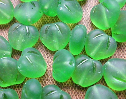 Zmrzlá zelená srdíčka - 10ks