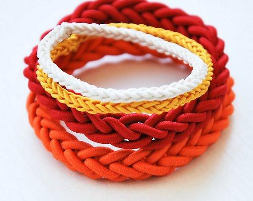 SET GUMIČIEK | Žlto - oranžovo - červený