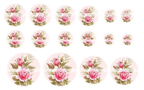 Návrh na pryskyřici - Květiny č.6
