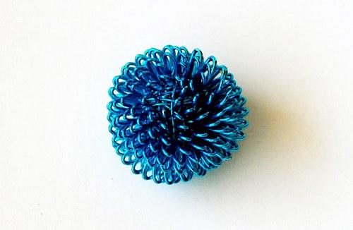 Kulička z drátku - sv. modrá