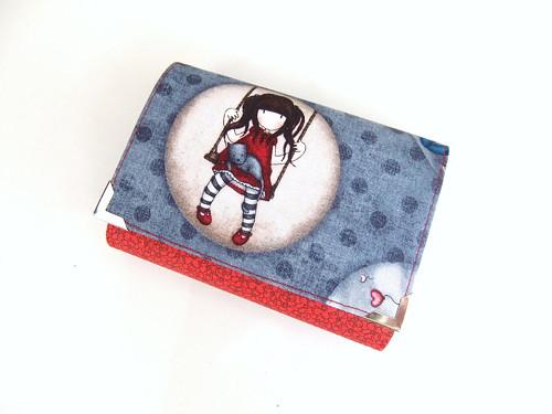 S kočičkou v klíně, běží den líně - peněženka :-)