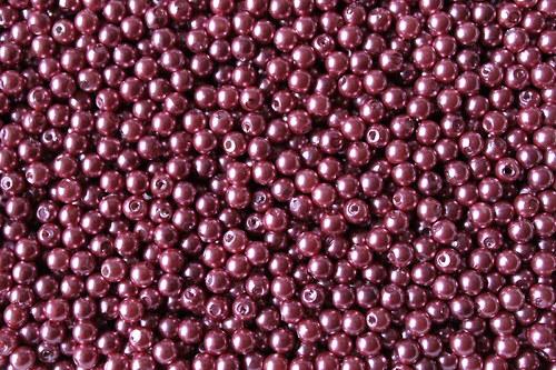 Plastové perličky 5mm - 250g (cca 4000ks)