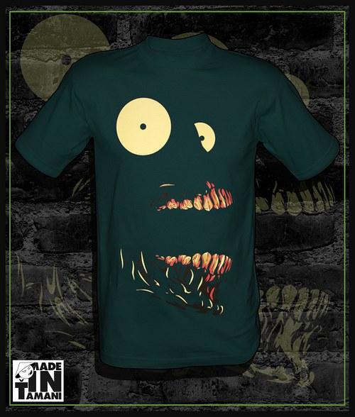 Pánské tričko screaming skull