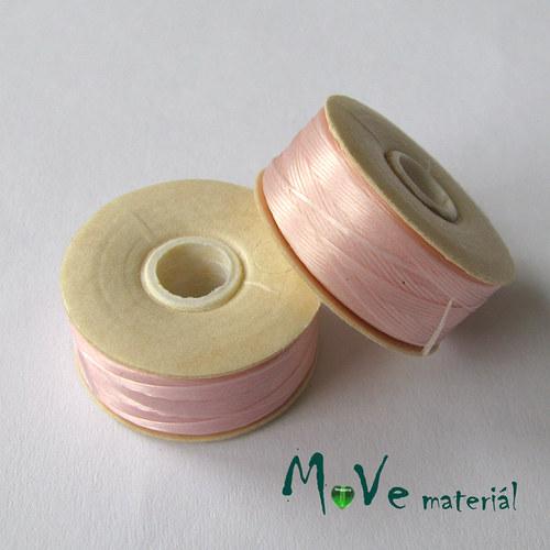 NYMO niť 0,3mm/1ks,světle růžová
