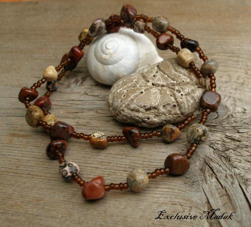 Gaia ....... náhrdelník, jaspis
