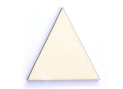 Trojuhelník ze dřeva (obrys) - šíře 5 cm