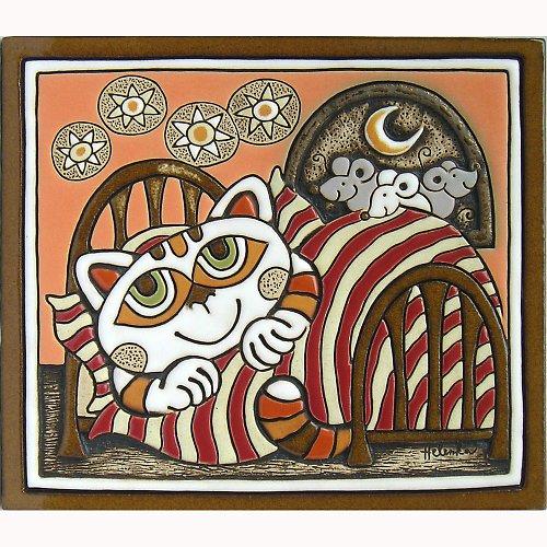 Kočka v peřině a myši K-102-R