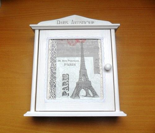 "Skříňka na klíče \""Paříž\"""