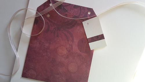 Plastický vzor II  -  obal na CD 13x14 cm