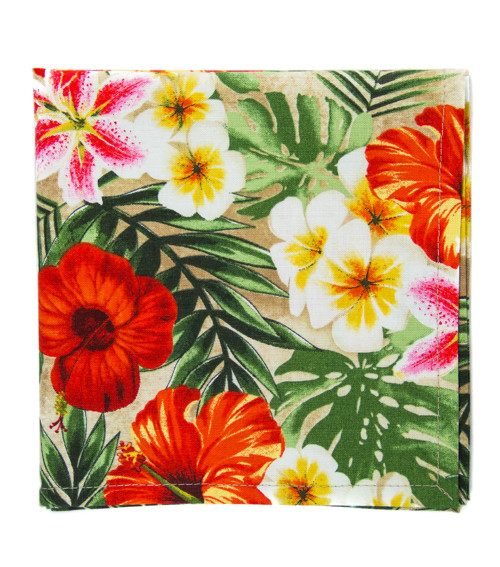 Kapesníček tropické květy
