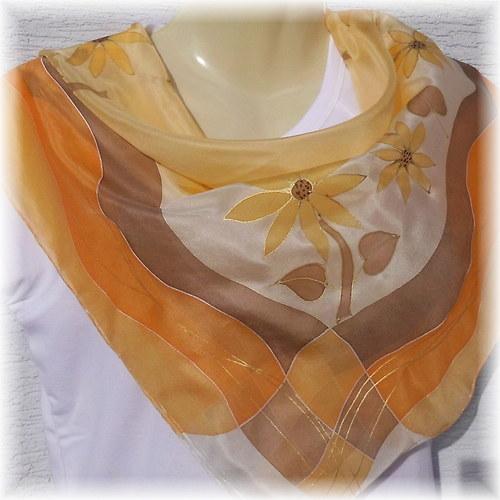 Hedvábný šátek - Vzpomínka na léto