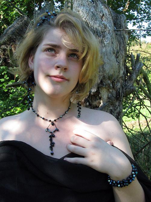 Večernice - náhrdelník