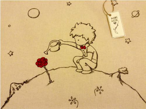 Plátěná taška Malý princ