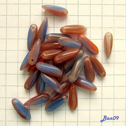 Jazýčky hnědomodré