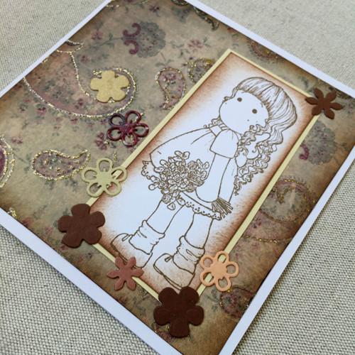 Přáníčko pro děti s obálkou
